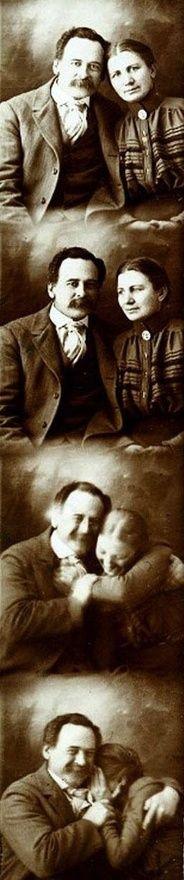 Adorable Victorian couple