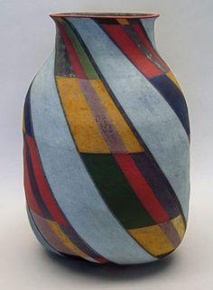 Elizabeth Fritsch pottery vase