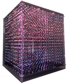 Reasonable Claite Diy 3d Led Light Cube Kit Advertising Lamp 8x8x8 512 Led Fog Lamp With Accessory Protective Box For Display Advertisement Goods Of Every Description Are Available Back To Search Resultslights & Lighting