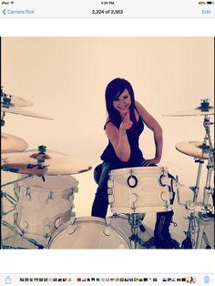 ~Jen Ledger~Drums~Skillet