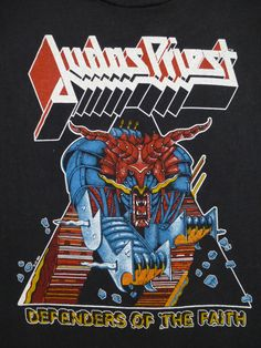 JUDAS PRIEST vintage 1993 tour TSHIRT by rainbowgasoline on Etsy