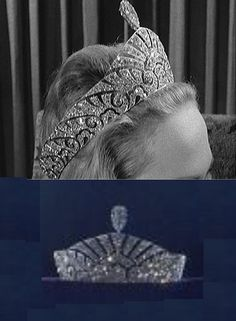"Marquis of Anglesey diamond tiara (1959 Christie's & DeBeers ""Ageless Diamond"" exhibit). On the hunt for color / higher quality images, this is an interesting 