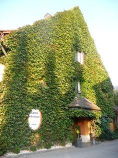 Hotel em Marktl am Inn, cidade alemã na fronteira com a Áustria. Charmoso e aconchegante,