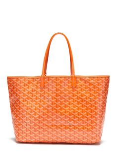 Goyard Orange Monogram St. Louis PM Tote Bag