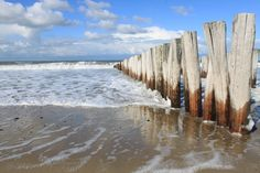 Beach in Domburg, Zeeland, Netherlands
