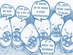 """Cualquier paciente que haya pasado por tratamiento de ortodoncia lo entiende muy bien... """"¿Y si mejor nos quedamos chuecos?"""" #Ortodoncia #odonto #odontologia #ortodoncista #odontomemes #Muelas #dientes #dientessanos #dientesbonitos #bocasana #boca #labias #sonrisa #smile #sonrie #bonitodia #brackets #sincaries #like #dental #dentista #clinicadental #dentalclinic"""