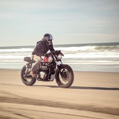 caferacersofinstagram: @threepence putting the cafe/scrambler...  caferacersofinstagram:  @threepence putting the cafe/scrambler hybrid Re/Deux to the test. Get more details this build on @british_customs page.  CROIG Takeover: Adventure Series Part II with @brjtish_customs photographer Brin Morris @thedeuk.  #BCbuilt #newheritage #croig #raen #campvibes #croigtakeover #caferacersofinstagram (at CROIG Takeover: British Customs Part II)