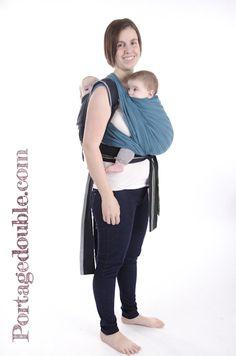 Portage de jumeaux - Vous avez installé bébé en écharpe, et l autre a 51b9cc152ca
