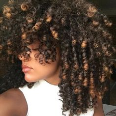 Maybe someday I'll get the courage to die my natural hair. This is beautiful. I love the color. It's not blonde. I'm tired of that gold blonde color. This is like caramel :)