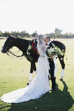 romantic wedding style / equestrian Santa Barbara Travel Inspired Wedding