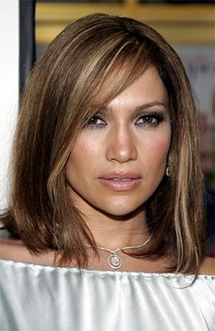 cb328d2d3c3eb From brunette to bronde and blonde, Jennifer Lopez is known for having some  of sexiest hair on the red carpet. Whether she is rocking a slicked back ...