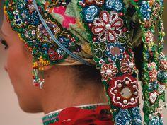 Headdress. Croatian national costume