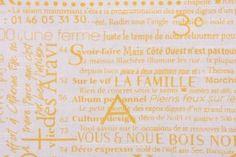 Premier Prints Newsletter-Slub Drapery Fabric in Corn Yellow $8.48 per yard