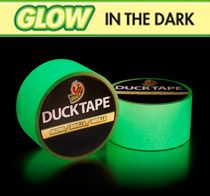 Glow In The Dark Duct Tape . Go to the next level with your various duct tape projects with the glow in the dark duct tape.