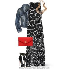 """MICHAEL KORS Maxi Dress"" by uniqueimage on Polyvore"