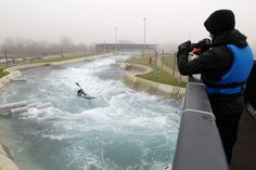London 2012 Olympics  White water course