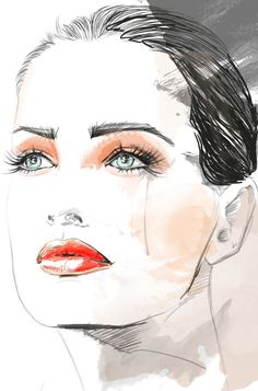 NEW BLOOD STYLE - HAUTE COUTURE: NEW BLOOD STYLE (my fashion illustration)