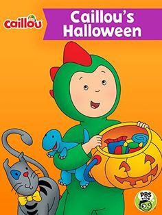 Trick or treat! Halloween is coming and Caillou has so much to look forward to. Amazon Instant, Instant Video, Caillou, Pbs Kids, Halloween Movies, Trick Or Treat, Cookie, Jar, Entertainment