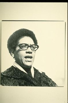 Audre Lorde - Caribbean-American poet, writer, archivist and mother