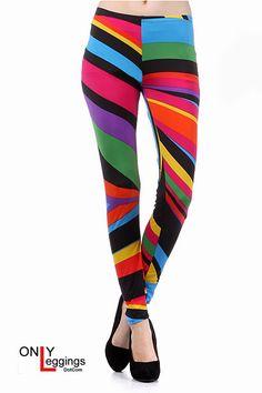 Splash of color leggings.....