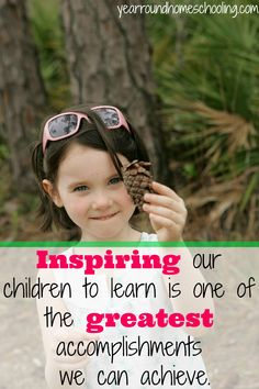 Bringing inspiration to your homeschool is important to your children's education! #Help #Encouragement #Homeschooling