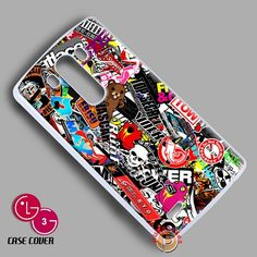 New Rare Volk Racing Ebisu Sticker Bomb LG G3 Case Cover
