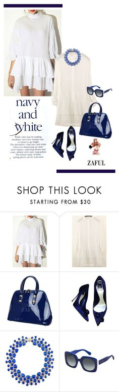 """Zaful.com Nº2"" by hamaly ❤ liked on Polyvore featuring Christian Dior, Marc Jacobs, women's clothing, women, female, woman, misses, juniors, ootd and dresses"