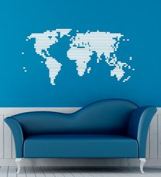 World map country names text typography stickers home and world map wall decal vinyl stickers global map home interior design art murals bedroom decor gumiabroncs Images