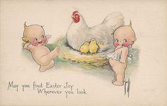 Easter Kewpies