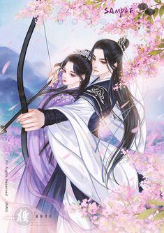 Anime Couples Drawings, Anime Couples Manga, Chica Anime Manga, Anime Angel Girl, Anime Art Girl, Manga Art, Manga Couple, Anime Love Couple, Chinese Drawings