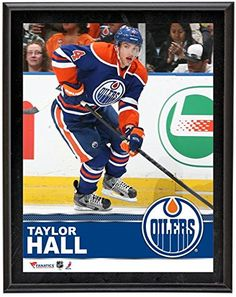 Oilers Taylor Hall Plaque