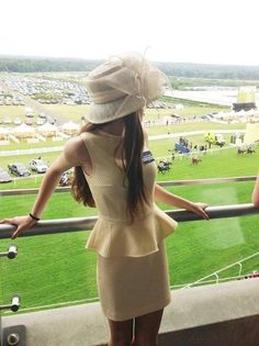 I cant wait to go to the Kentucky Derby, every Southern lady should. #hats #dresses