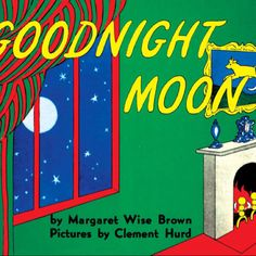Goodnight room. Goodnight moon. Goodnight cow jumping over the moon. Goodnight light, and the red balloon...  #myfavoritethings #goodnightmoon