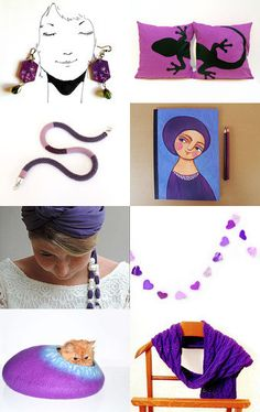 purple  by marisa on Etsy--Pinned with TreasuryPin.com