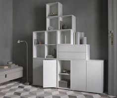 More news! Ikea has released their new products with sales start in February and amongst my favorites is the Eket storage solution. Living Tv, Living Room, Inspiration Ikea, Ikea Eket, Hacks Ikea, Famous Interior Designers, Ikea Home, Celebrity Houses, Interior Exterior
