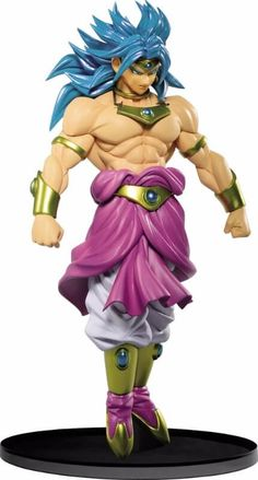 Broly Super Saiyan SCultures figure. Taken from the DBZ Anime series. Officially licensed by Banpresto!