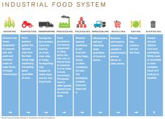 The Industrial Food System. not sustainable