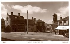 0289 Meltham Market Place from the 1950s.