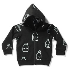 Minti Baby Milk Bottles Furry Zip Up ~ Cool Baby Clothes ~ Tiny Style Australia Cool Baby Clothes, Cool Baby Stuff, Kids Clothes Australia, Baby Wearing, Denim Fashion, Adidas Jacket, Zip Ups, Baby Boy, Hoodies