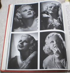 Jean Harlow Vintage Hollywood Movie Stars Photo Book Garbo Sinatra Gable Barrymore 377 pictures