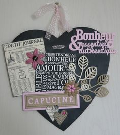 1000 images about 07 scrap coeur amour mariage on pinterest coeur d 39 al - Idee scrapbooking amour ...