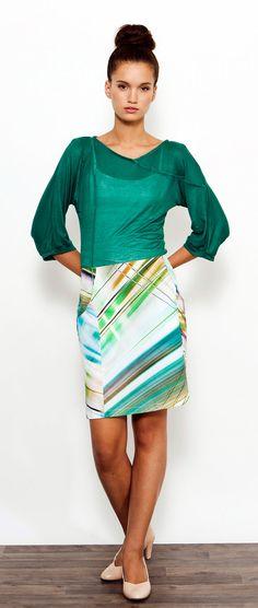 SALE ! Colorful Casual Skirt, Spring skirt, Mini Skirt, High Waist Skirt, Patterned skirt, A Line Skirt on Etsy, $87.83