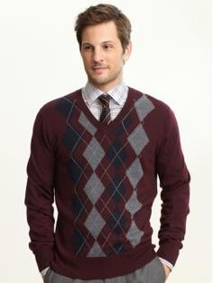 I love sweaters. This one's from Banana Republic.