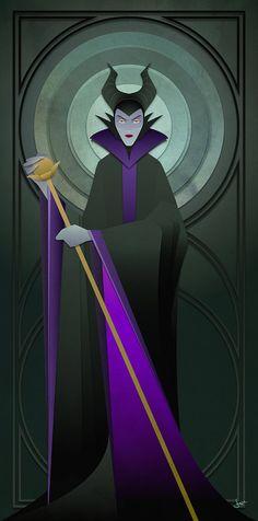 Disney Villains Series Maleficent by JonMendez on Etsy