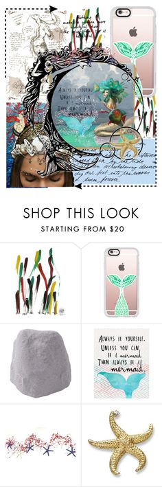 """""""The girl who has everything"""" by mary-thor ❤ liked on Polyvore featuring NOVICA, Rika, Study, Casetify and Improvements"""