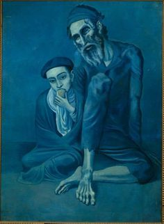 Picasso - Vieux Juif avec un garçon - Jeune homme - LANKAART