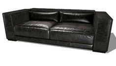 Bogart, le canapé Maisons du monde. Réf; 111.254 Prix: 1290 €