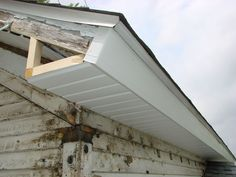 Gable Soffit And Fascia Construction In 2019 Fascia