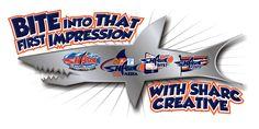 New logo expanding the Sharc Creative Brand Shark Information, Cavaliers Logo, Team Logo, Logos, Creative, Logo, A Logo