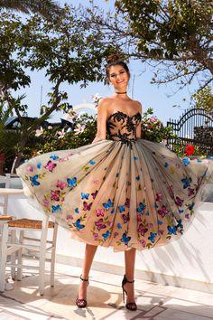 Madeira evening dress
